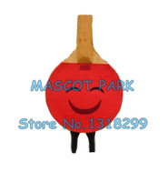 Ping pong paddle mascot costume mascot custom adult size cartoon character cosply carnival costume 3348