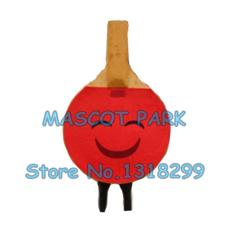 Ping-pong paddle mascotte costume mascotte personnalisé adulte taille dessin animé personnage cosply carnaval costume 3348