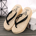 2017 Summer style Women's shoes Fashion sandals slippers Flip Flops for lady .WNH-883