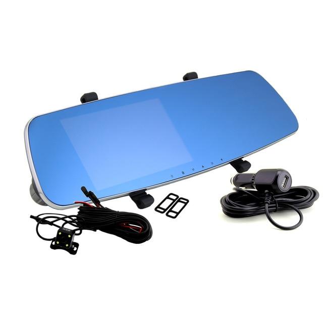 Andonstar Новатэк 96655 5 дюймов Экран Full HD 1080 P автомобиля Зеркало заднего вида видеорегистратор автомобильный Камера Ночное Видение Двойной Камера видео Регистраторы