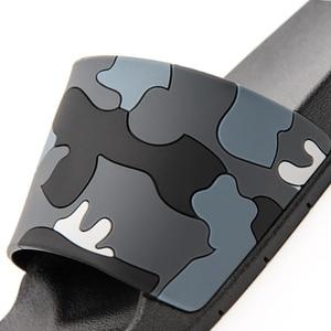 Image 2 - ASIFN kapcie męskie Casual slajdy męskie antypoślizgowe kryty lato na świeże powietrze plaża klapki kamuflaż sandały 4 kolory Zapatos Hombre
