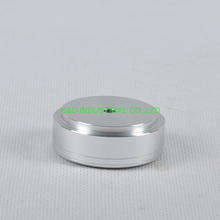 1pc 44X17mm Sliver aluminum feet HIFI pad Chassis Headphone Amplifier Speaker DAC CD Player
