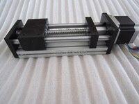 CNC GGP ball screw 1204 Sliding Table effective stroke 400mm Guide Rail XYZ axis Linear motion+1pc nema 23 stepper motor