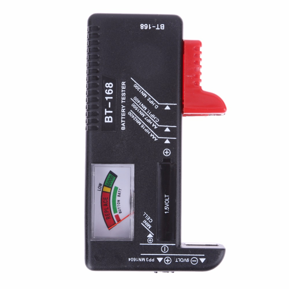 Household Battery Tester : High quality universal battery tester checker aa aaa v
