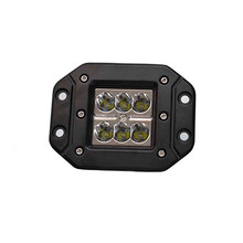 1 Pcs Ecahayaku Flash Mount 18W LED Bumper Lampu 6000K IP67 untuk ATV Jeep Truk Pickup Traktor Trailer SUV 4WD Pertanian Listrik Basis Lempeng SUV(China)