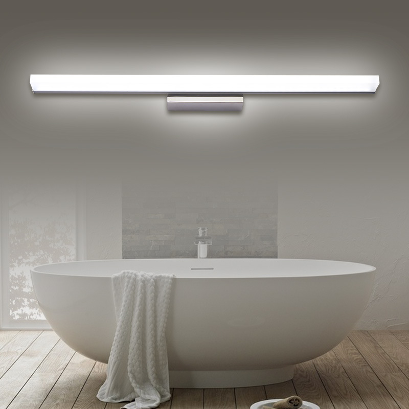 Modern Bathroom LED Wall Light Waterproof LED Wall Sconce Lighting ...