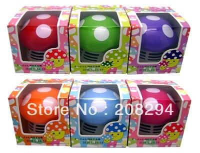 Free shipping,Colorful mushroom desktop vacuum cleaner,Home mini cartoon desktop cleaner