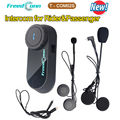 Free Shipping!2016 New Set FreedConn T-COM02S Motorcycle Helmet Intercom System for Rider And Passenger