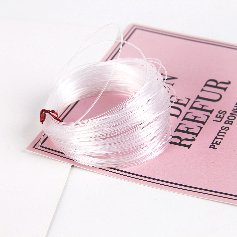 Apparel Sewing & Fabric Diy Craft Supplies David Accessories 0.7mm 1meter Fish Fishing Line Diy Transparent No Stretch Fish Silk Crystal Line Cord Thread,1y58968