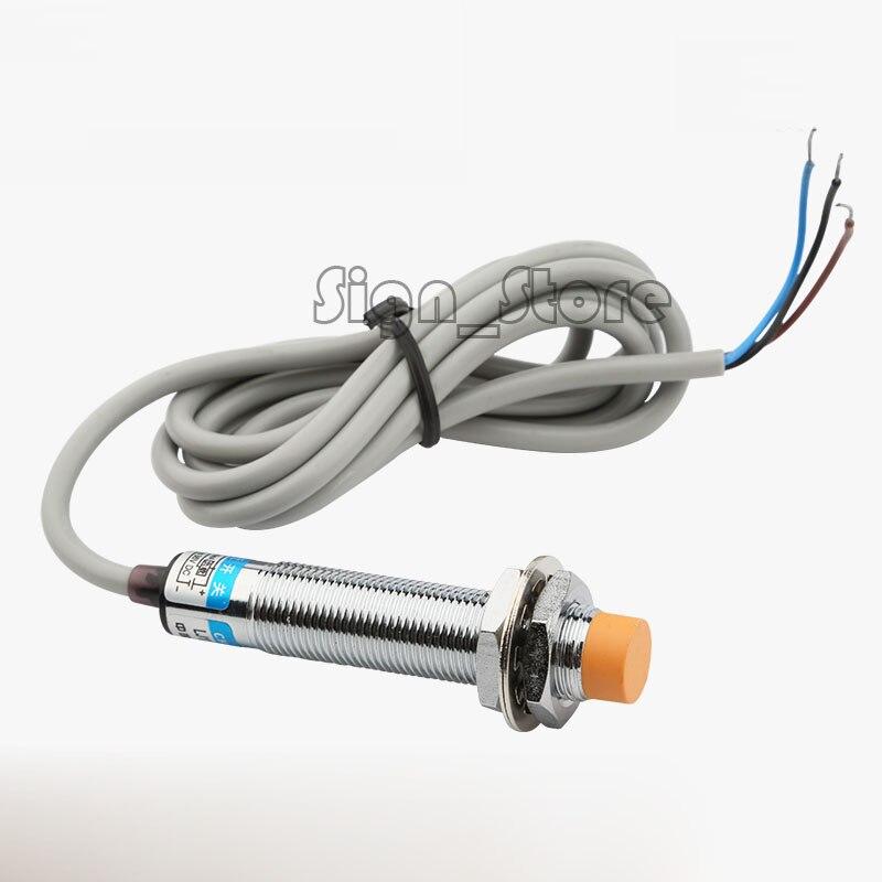 3D Drucker CNC Router CO2 Laser LJ12A3-4-Z/BX Induktive Proximity Sensor Erkennung Schalter NPN DC6-36V 4mm open proximity schalter