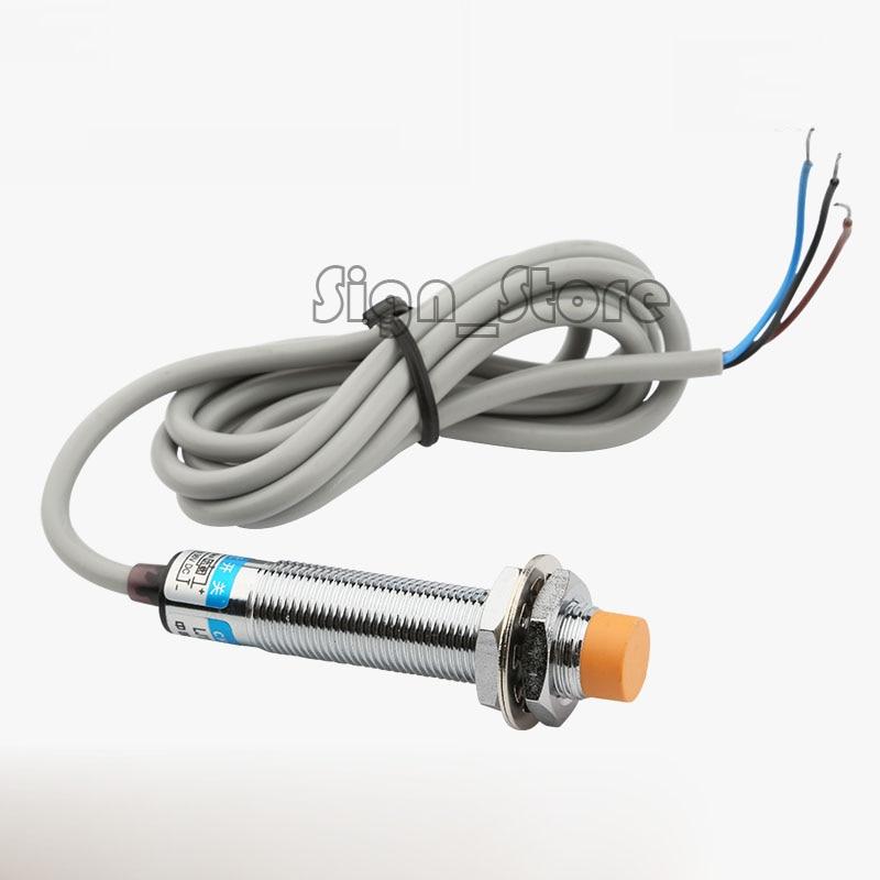 3D Printer CNC Router CO2 Laser LJ12A3-4-Z/BX Inductive Proximity Sensor Detection Switch NPN DC6-36V 4mm Open Proximity Switch