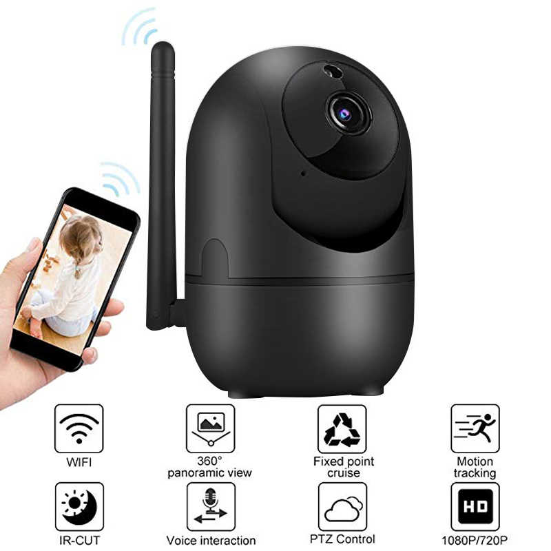 Wdskivi Auto Track 1080P IP Kamera P2P NAS RTSP ONVIF Überwachung Sicherheit Monitor WiFi Wireless Mini CCTV Innen Kamera YCC365