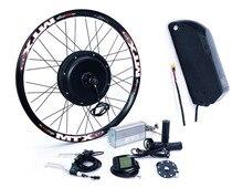 Long distance 48 в 1500 Вт сзади колесо для электрического велосипеда conversion kit с 17ah литиевых батарея pack