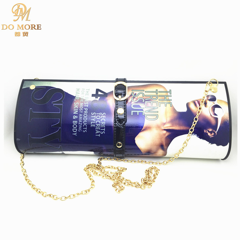 50ac193095fc Detail Feedback Questions about Vintage magazine women Day clutches bag  fashion messenger bags PVC women brand designer clutch eveing bags (large  size) on ...