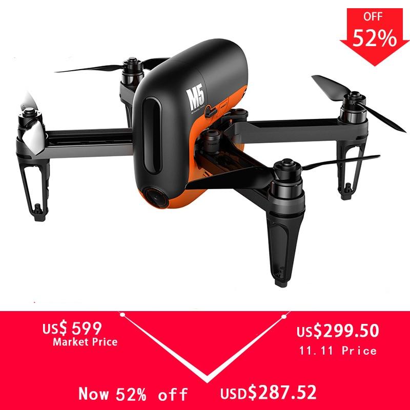 Drone de caméra HD Wingsland M5 720 P FPV Wifi Selfie Drones intelligents GPS RC quadrirotor Multicopter Quad Dron VS DJI Mavic Pro