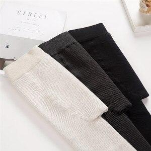 Image 4 - Outono/inverno mais de veludo grosso leggings alta qualidade moda confortável legging calças casuais cor sólida leggings tt3311