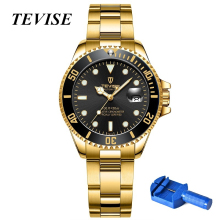Women Watches Luxury TEVISE Automatic Watch Woman Rotatable Case Montr
