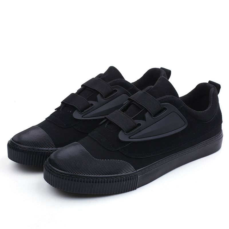 2018 spring and autumn new Harajuku canvas trend shoes breathable a pedal skateb