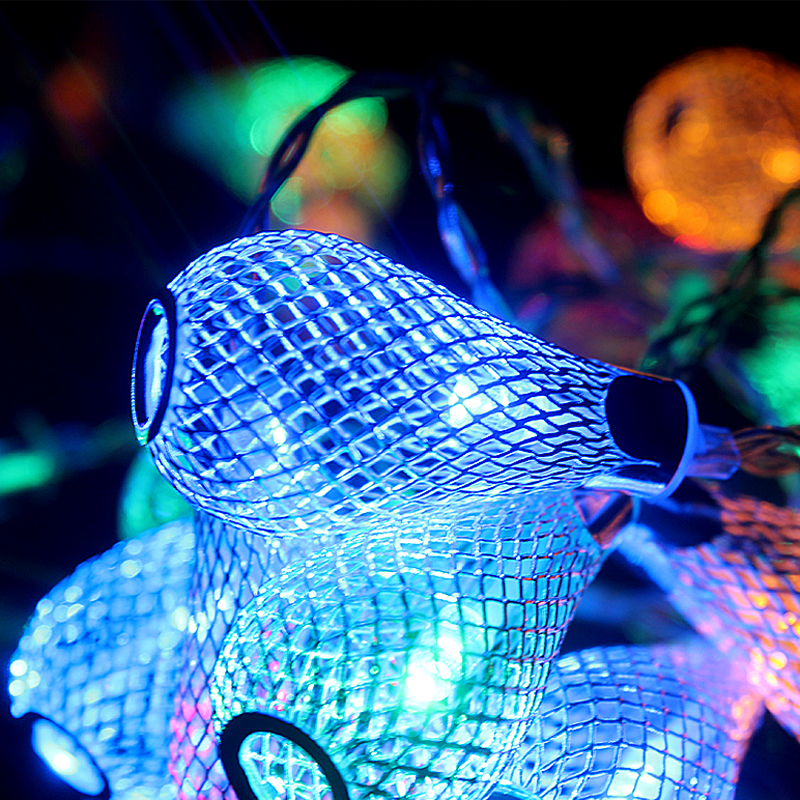 Novelty Outdoor lighting 2M LED Ball string string Christmas Lights - Pencahayaan perayaan - Foto 4