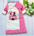 Newborn baby sleeping bag Envelope for newborns 100% Cotton Autumn Winter wrap Warm Sleepsacks Stroller Swaddling