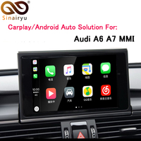 Sinairyu OEM Apple Carplay Android Auto Solution A6 S6 A7 MMI Smart Apple CarPlay Box IOS Airplay Retrofit for Audi