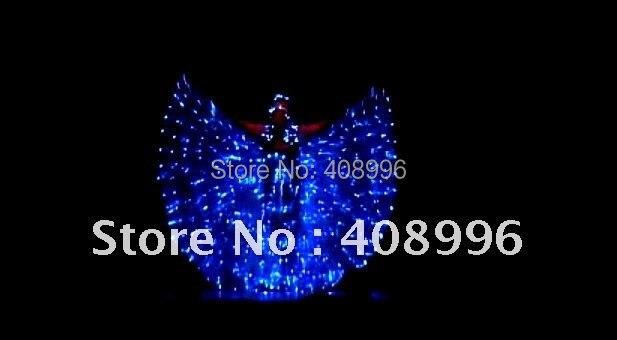 LED Light-Up костюмы/светодиодной подсветкой платье/светящиеся костюмы PAS DE синий