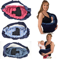 Comfort Baby Toddler Newborn Front Cradle Pouch Ring Sling Backpack Carrier Baby Slings Kids Child Kangaroo