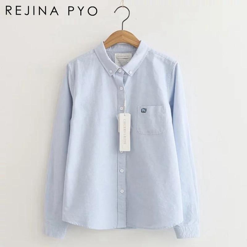 Women New Fashion Plaid Basic Blouse Shirt Casual Long Sleeve Slim Fit Jumper Tops Pullover Shirt