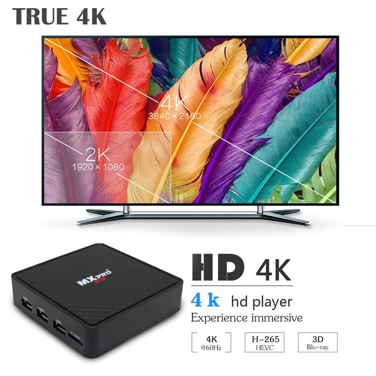 Image 5 - Vmade Original Smart Mini Media Player V96S Android 7.0 Allwinner H3 H.265 Support Netflix Flixster YouTube 1GB+8GB Mini TV Box-in Set-top Boxes from Consumer Electronics