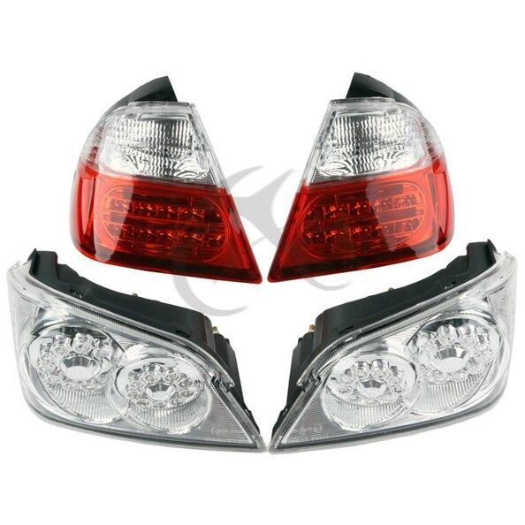 Фонарь ствол и ниже светодио дный тормозной поворотники для Honda GoldWind GL1800 06 11