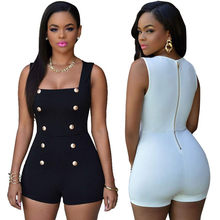 Jumpsuits Bodycon soft and comfortable Playsuits Ladies One Piece Romper L50/0115(China)