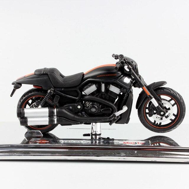 Maisto varilla de noche VRSCDX, Modelo Especial fundido a presión, modelo de motocicleta Cruiser street race, juguete de bicicleta muscular coleccionable, escala 1/18, 2012