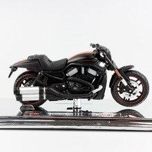 Scala 1/18 maisto 2012 VRSCDX Night Rod Special Diecast model moto Cruiser street race muscle bike toy da collezione