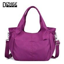 DIZHIGE Brand Fashion Women Handbag Waterproof Nylon High Quality Crossbody Bags For Large Capacity Shoulder