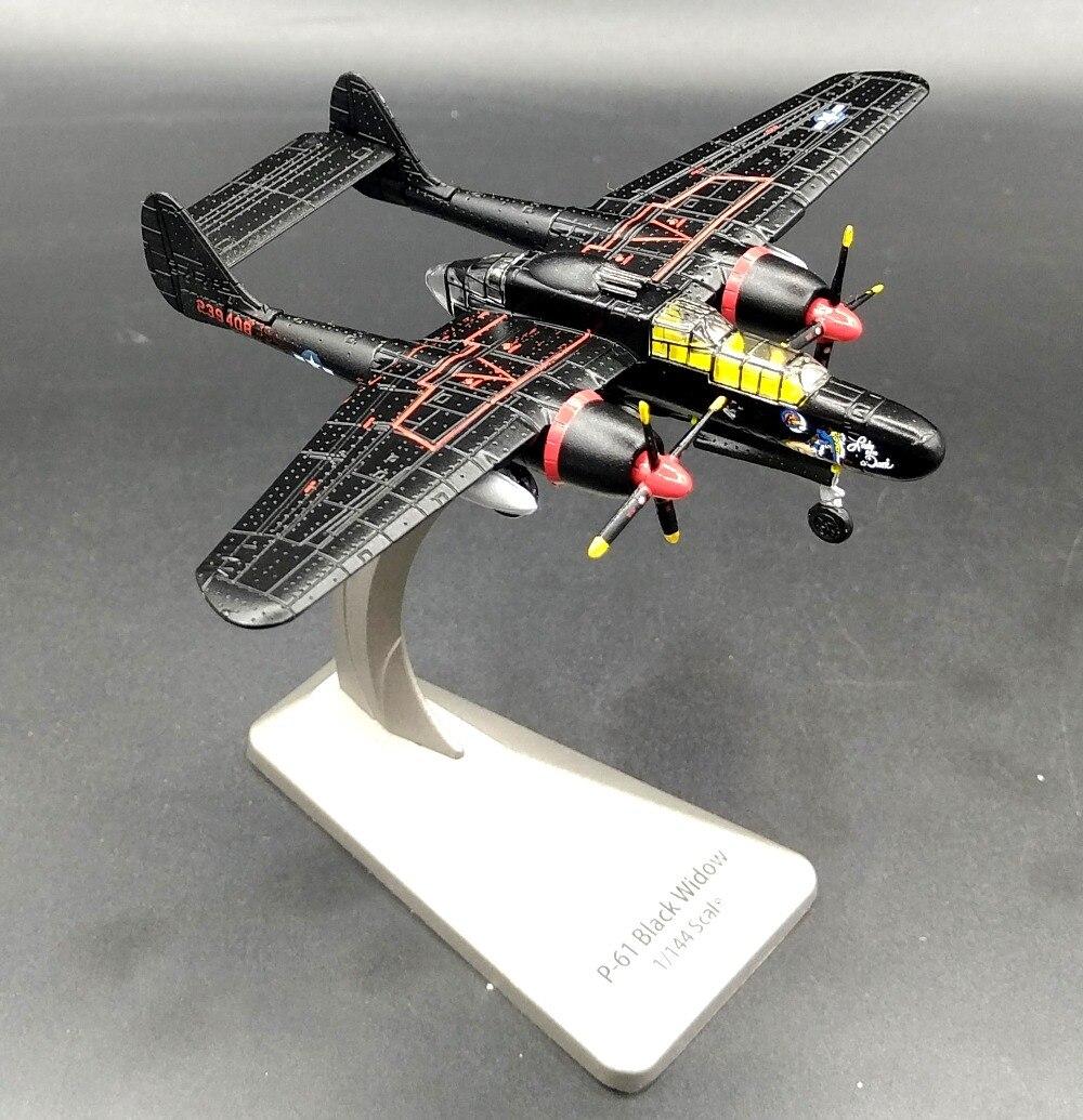 ФОТО AF1 1: 144 American P-61 Black Widow night fighter model Alloy aircraft model Favorites Model