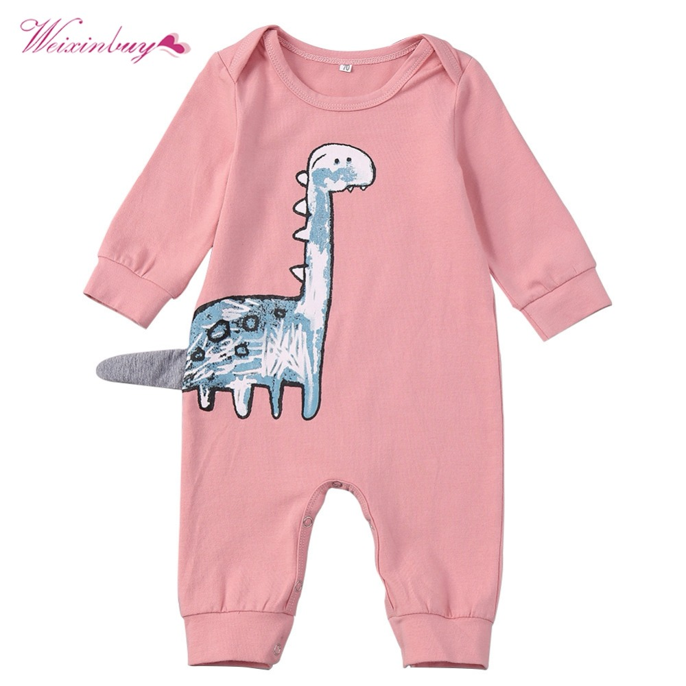 Spring Autumn Baby   Rompers   Boys Girls Cotton Long Sleeve O-Neck Printed Clothes Baby Fashion Casual   Rompers