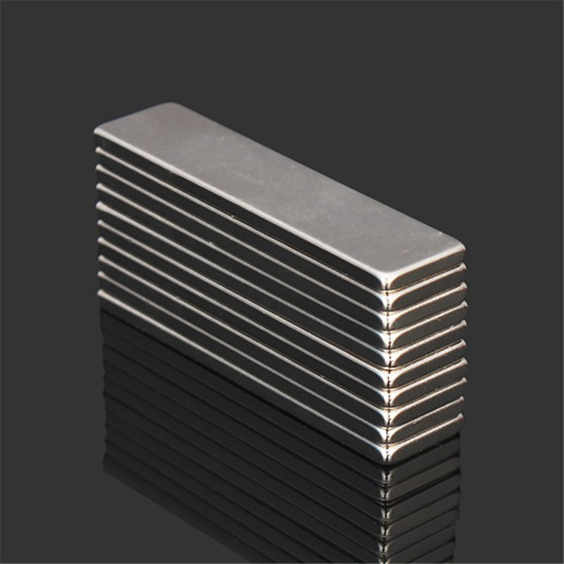 10pcs N52 40x10x2mm Super Strong Block Cuboid Magnets Rare Earth Neodymium Magnets New