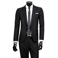 2017 Spring Autumn The New High Quality Single Breasted Slim Fit Suits Men S Business Suits