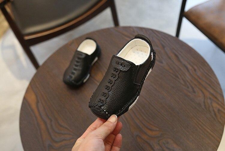 Crianças inglaterra estilo meninos sapatos de couro