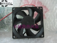 Sxdool 80mm 냉각 팬 JF0825S2H-R 8025 8 cm 80mm 인버터 사일런트 팬 24 v 0.15a