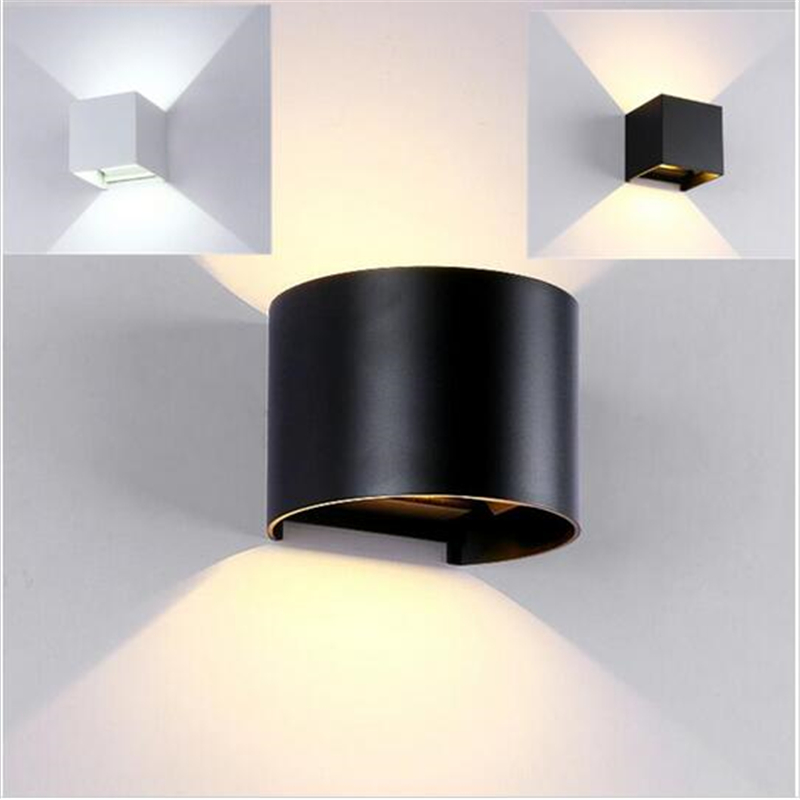 5pcs/Lot LED Outdoor Wall Sconce 8W/10W Dimmable ... on Led Sconce Lighting id=18243