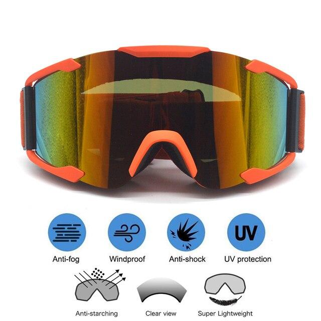 Motorcross Goggles Motorcycle Goggles Glasses Atv Ski Helmet Googles