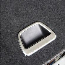 Per Land Rover Discovery Sport Range Rover Sport Range Rover Evoque ABS Matt Chrome Interni Baule Posteriore Telaio di Copertura Trim 1 pc