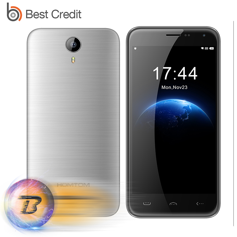 Original HOMTOM HT3 Android 5.1 Mobile Cell Phone 5 1280x720P MTK6580 Quad Core 3000mAh 1GB RAM 8GB ROM 8MP 3G WCDMA in stock