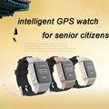 GPS Reloj Inteligente para El Abuelo o Abuela de Seguridad reloj Teléfono con SOS Función de Llamada de Marcación Reloj Gimnasio rastreador reloj