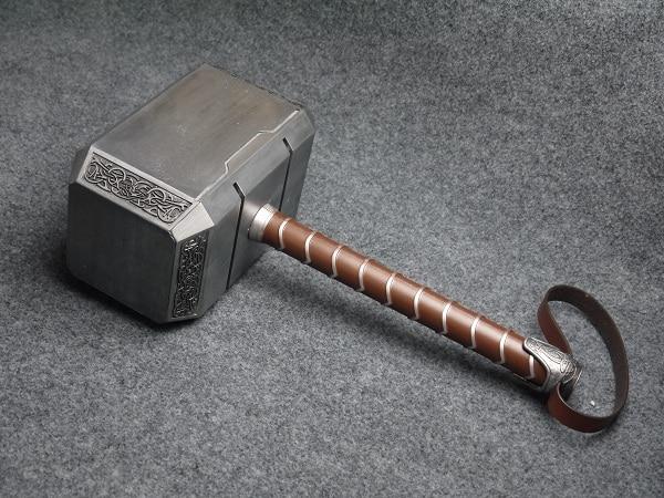 Alliance THOR THOR 1:1 matériau en métal complet avec un marteau film de réduction parfait marteau jouets pour enfants