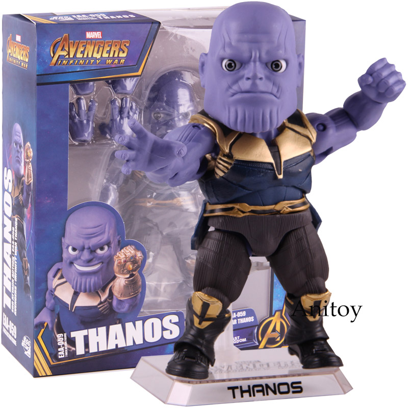 Figurine Marvel Avengers Infinity War Thanos oeuf attaque Action EAA-059 PVC modèle à collectionner jouet