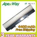 Apexway 6 celdas de batería portátil para dell latitude e4300 e4310 0fx8x 312-0822 451-10636 451-10638 451-11459 451-11493 453-10039