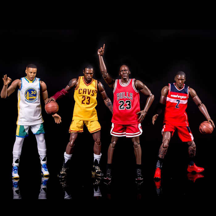 d1fd98077d9 Basketball Characters jordan Curry James John Wall Kobe Bryant Joints  Moveable 22cm Action Figure Toys