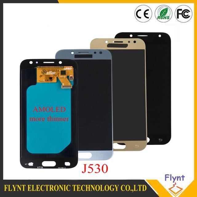 5.2 Süper AMOLED samsung LCD Galaxy J5 Pro 2017 J530 J530F J530FM lcd ekran dokunmatik ekran paneli Pantalla Yedek Parça